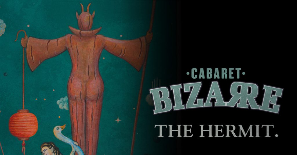 DJ Lord Nevermore à Cabaret Bizarre The Hermit Lausanne 2017
