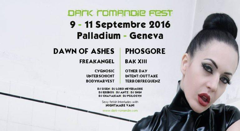 DJ Lord Nevermore with DJ Sisen Dark Romandie Fest 2016