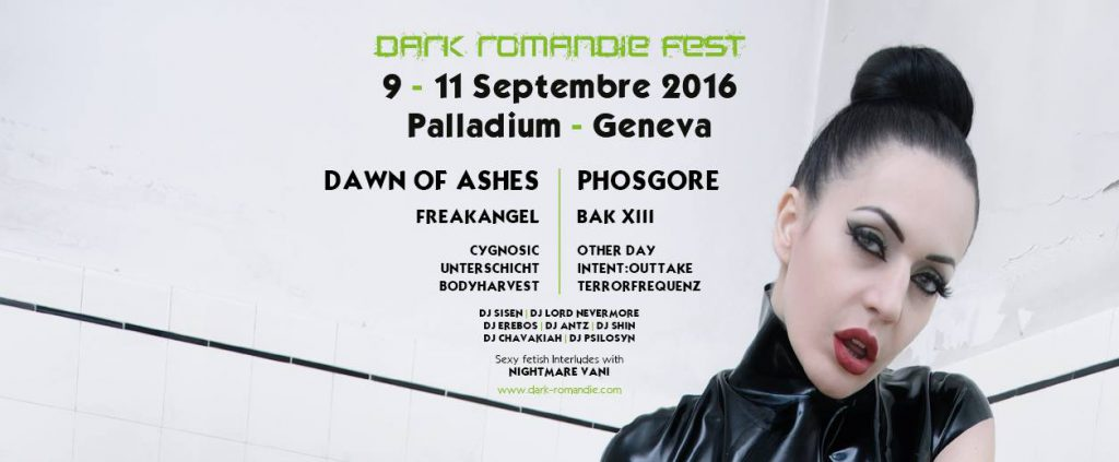 DJ Lord Nevermore with DJ Sisen Dark Romandie Fest 2016