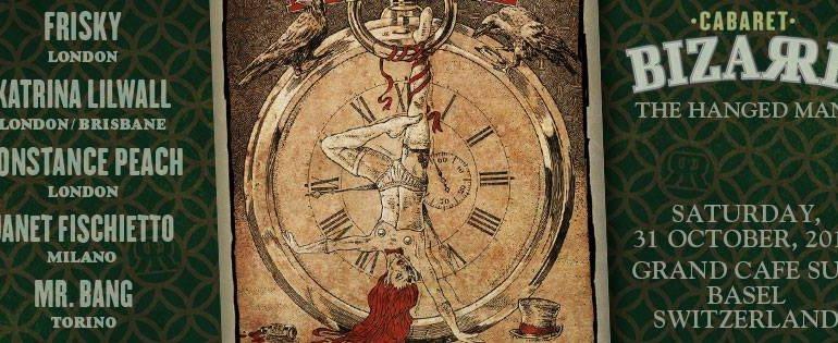 DJ Lord Nevermore Cabaret Bizarre The Hanged Man Halloween 2015 Basel Switzerland
