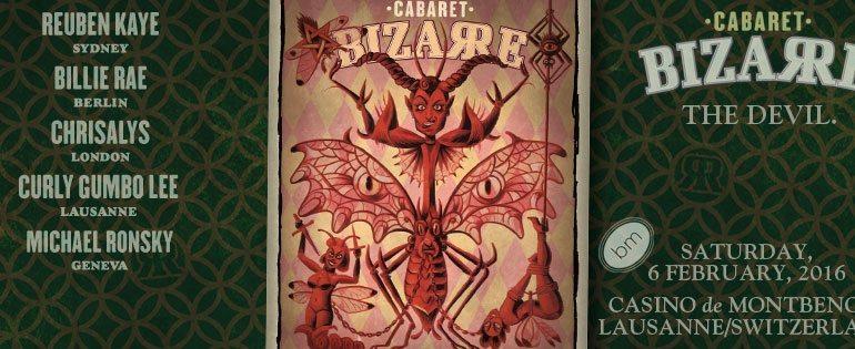 DJ Lord Nevermore Cabaret Bizarre Lausanne 2016