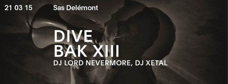 DJ Lord Nevermore Dive Bak13 Delémont 2015