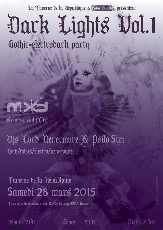 dj lord nevermore + mxd @ taverne de la république, Genève, Switzerland